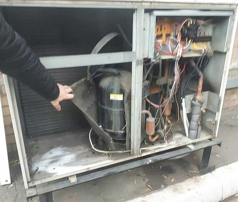 Замена компрессора климатической системы в Москве