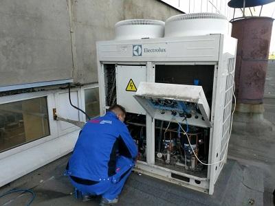 ремонт мультизональной VRF системы Electrolux