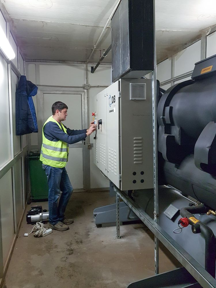 сервис и ремонт холодильного оборудования для торговых центров